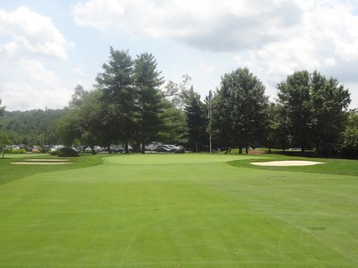 View of the Green from the Fairway