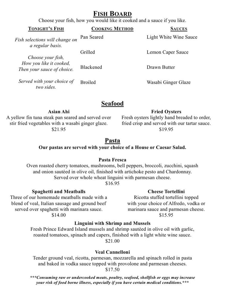 terrace park country club new summer dinner menu